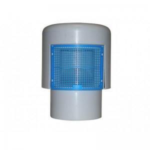 HL900N cijevni dozračnik DN 50/75/110 sa toplinski izoliranim kučištem i redukcijskim komadom DN50/75